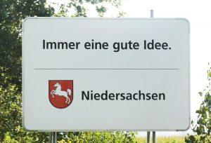 Immer eine gute Idee. Niedersachsen
