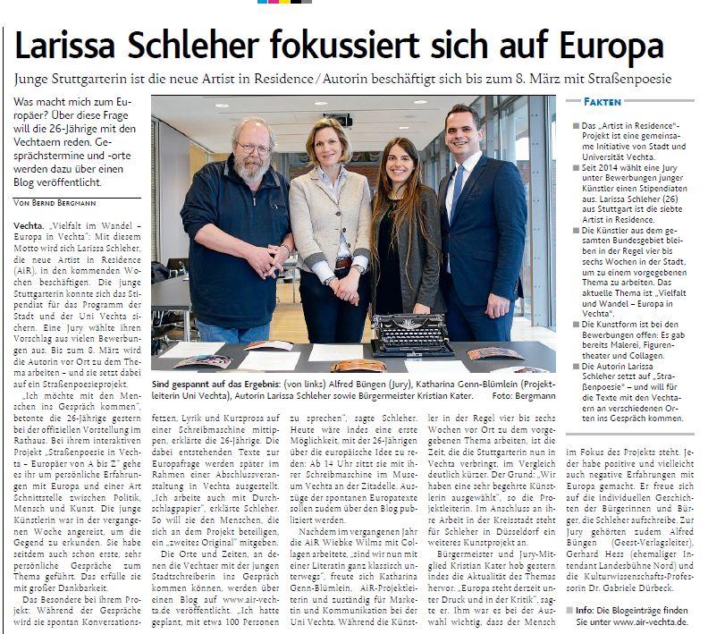 You are currently viewing Larissa Schleher fokussiert sich auf Europa